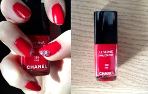 vernis chanel fire